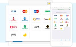 Интеграция с новой платежной системой Unitpay