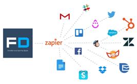 Подключите FormDesigner к сотням других приложений с помощью Zapier
