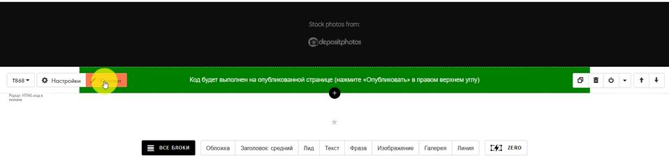 Как добавить форму в конструкторе сайтов Tilda 11