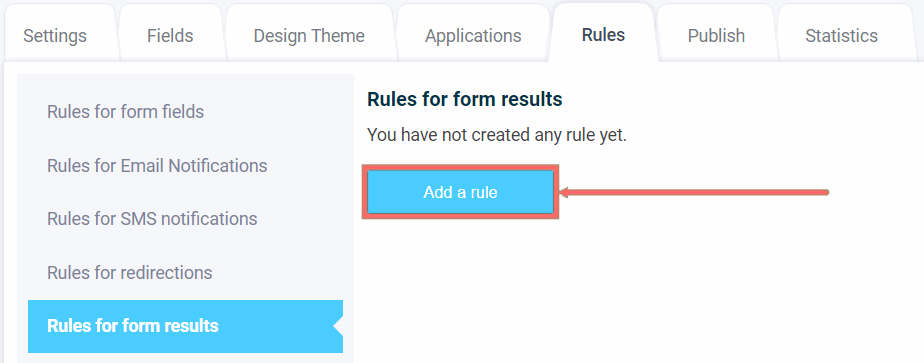How to add a rule