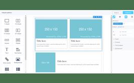 Блочный конструктор шаблонов страницы для печати и PDF документов