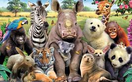 Назовите родные континенты представленных животных